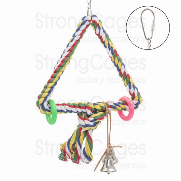 Triangulo con campanas
